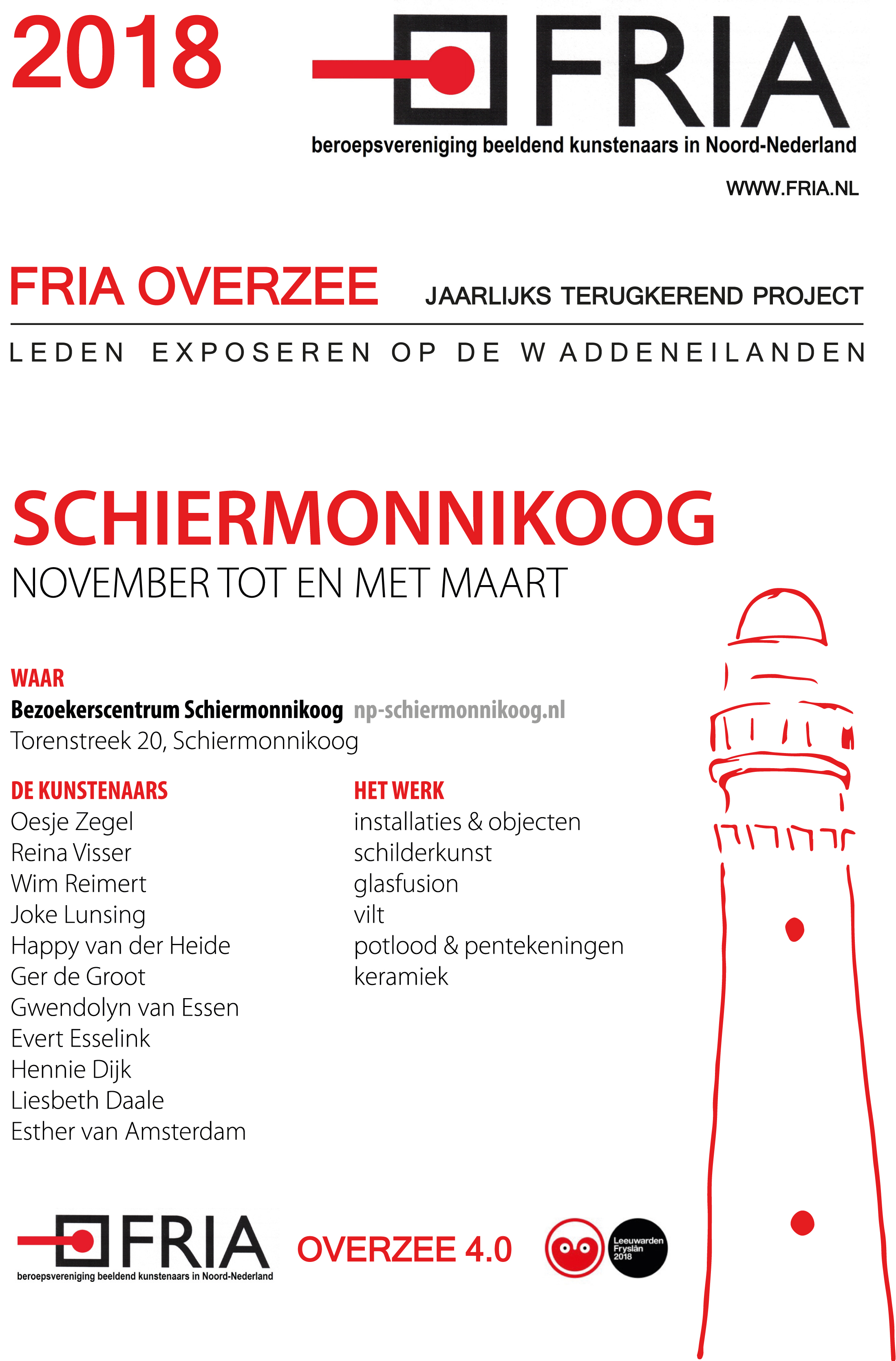 FRIA Schiermonnikook Digitale flyer